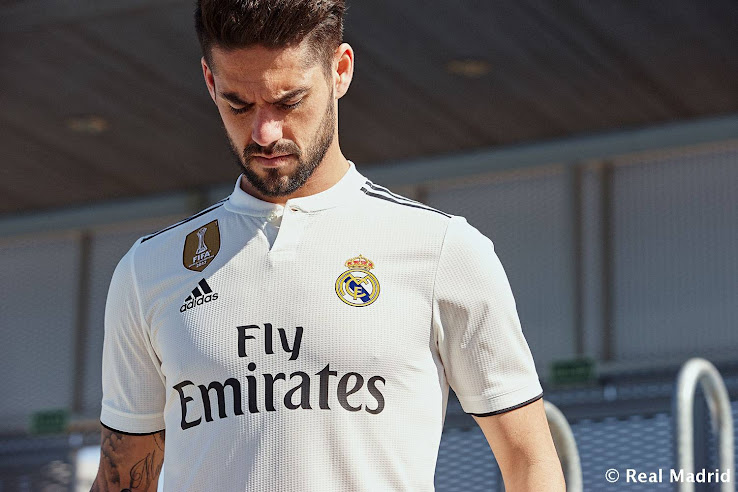 cc97a1516 Adidas Real Madrid 18-19 Home   Away Kits Released + Third Kit ...