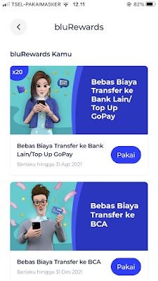 Review aplikasi blu bluRewards