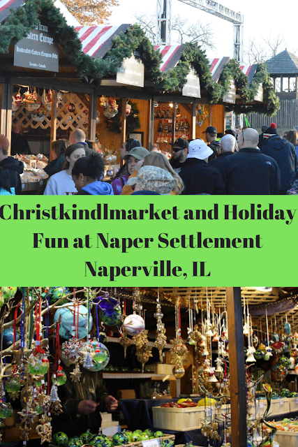 Christkindlmarket, Naper Lights and Popeil and Ronco Vintage Gadgets Exhibit at Naper Settlement in Naperville