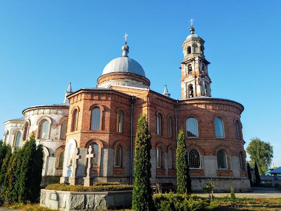 Миропілля. Свято-Миколаївська церква. 1885 р. Лівий приділ