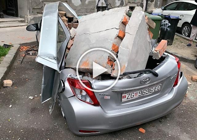 Силно земетресение удари Хърватия, има разрушения и пострадали (ВИДЕО, СНИМКИ)