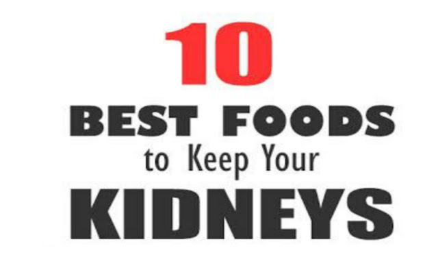 The best Food and drink for healthy kidney