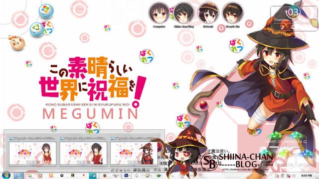 Kono Subarashii Sekai ni Shukufuku wo! - Megumin Theme Win 7