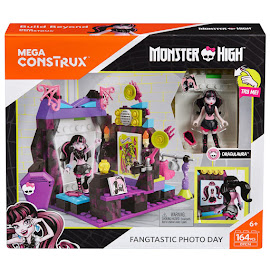 MH Draculaura's Picture Day Draculaura Mega Blocks Figure