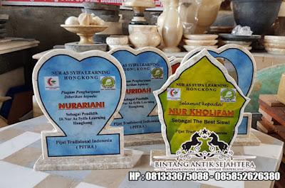 Vandel Marmer | Plakat Marmer Surabaya | Contoh Vandel Kenang Kenangan