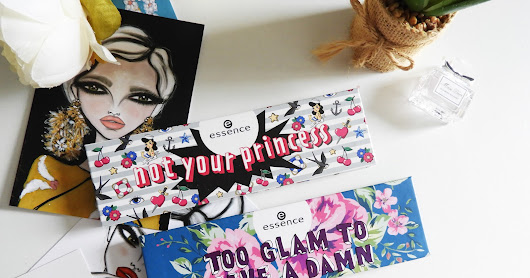 Review: essence not your princess & too glam to give a damn palette