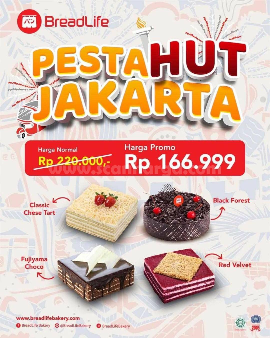 Breadlife Promo Spesial Pesta HUT JAKARTA
