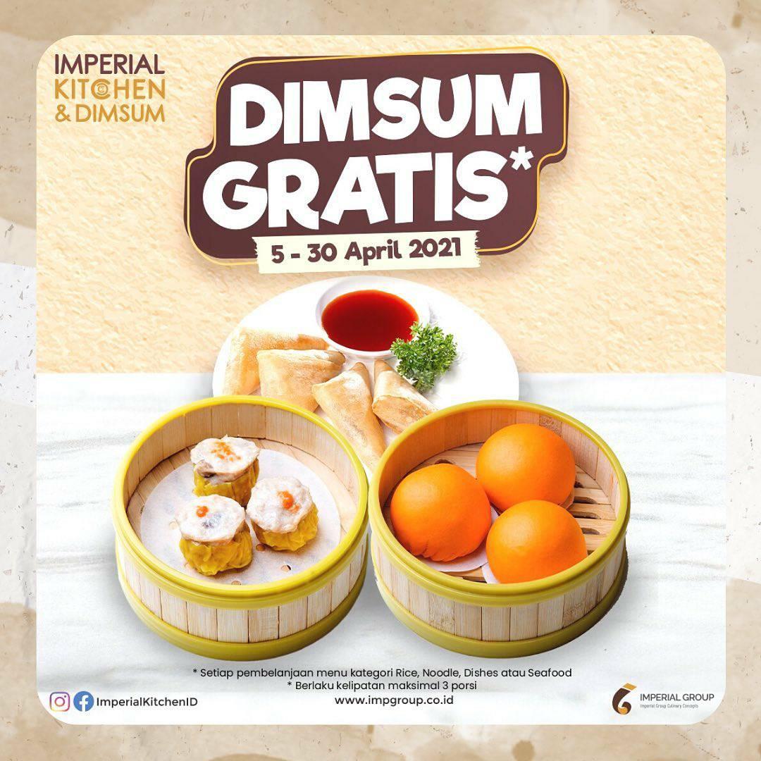 Promo IMPERIAL KITCHEN & DIMSUM GRATIS Dimsum