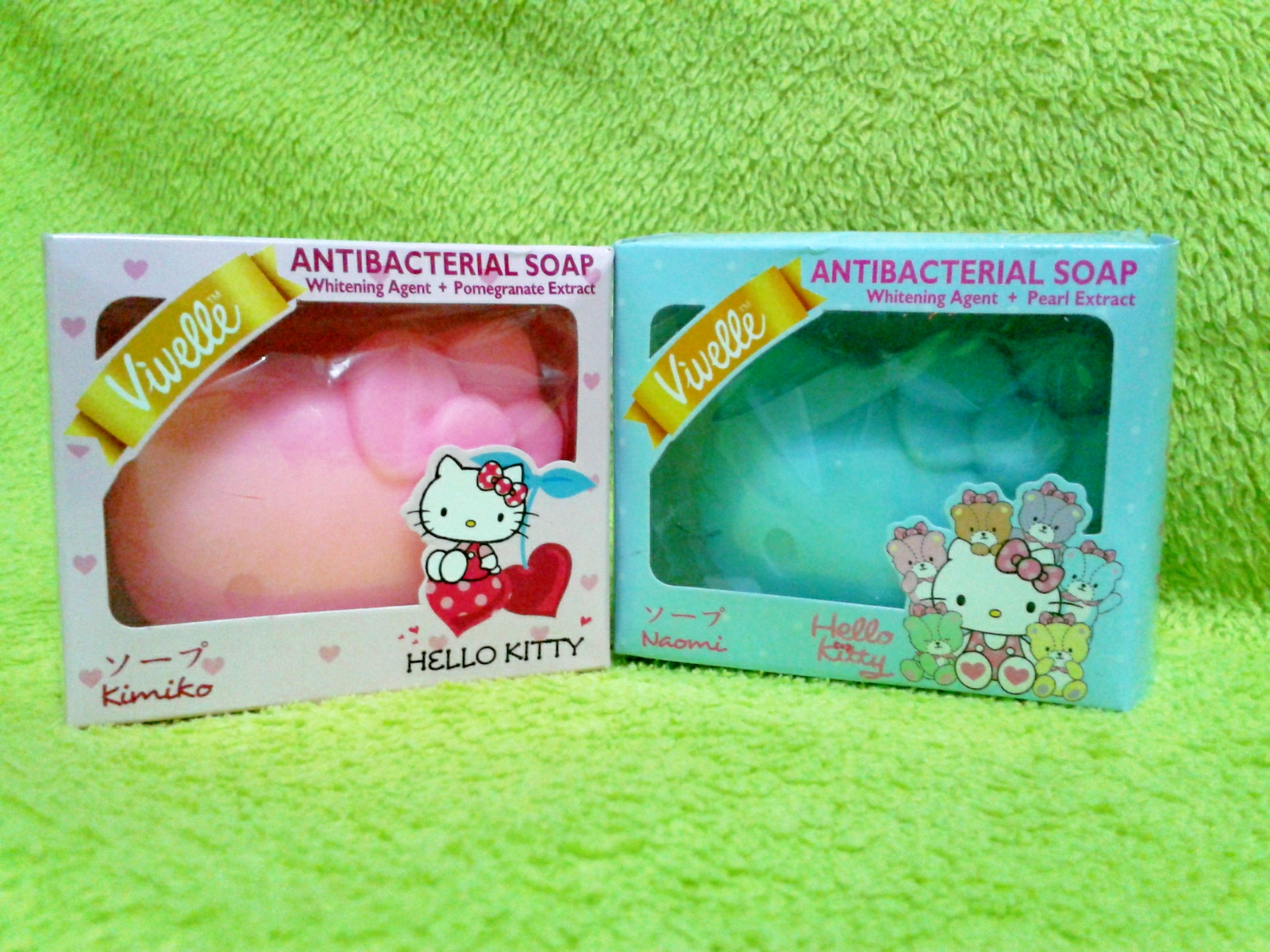 Lihat Rumah Hello Kitty Product Review Vivelle Hello Kitty Anti Bacterial Soap