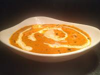 Paneer butter masala in serving bowl for Paneer butter masala recipe