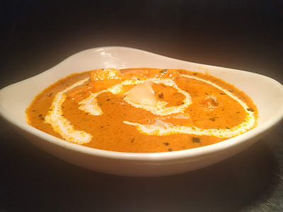 Paneer butter masala in serving bowl for Paneer butter masala recipe