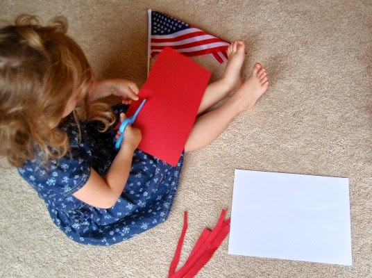 preschool flag craft