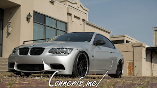 BMW 335i E92 front angle low