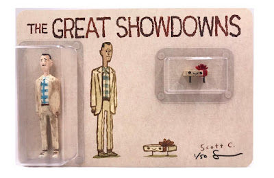 New York Comic Con 2020 Exclusive The Great Showdowns Forrest Gump Resin Figure Set by Scott C. x DKE Toys