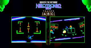 NEOTRONIC SHOW por Teatro Negro FX  3