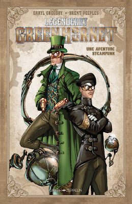 Legenderry tome 2 Green Hornet aux éditions Graph Zeppelin