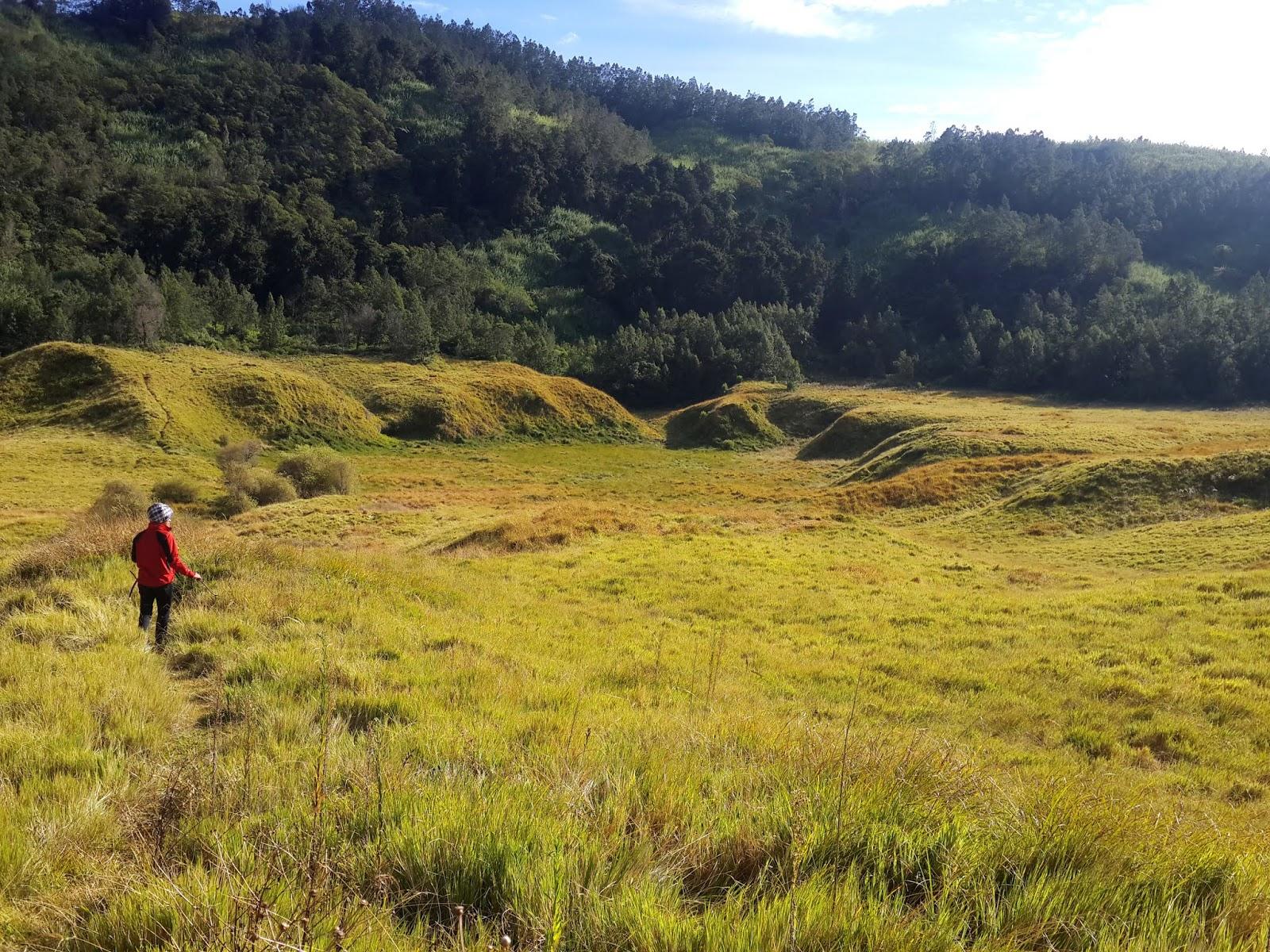 just scratch: Mendaki Santai di Bukit Pangonan
