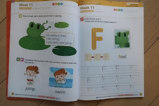 Kid's writing practice books