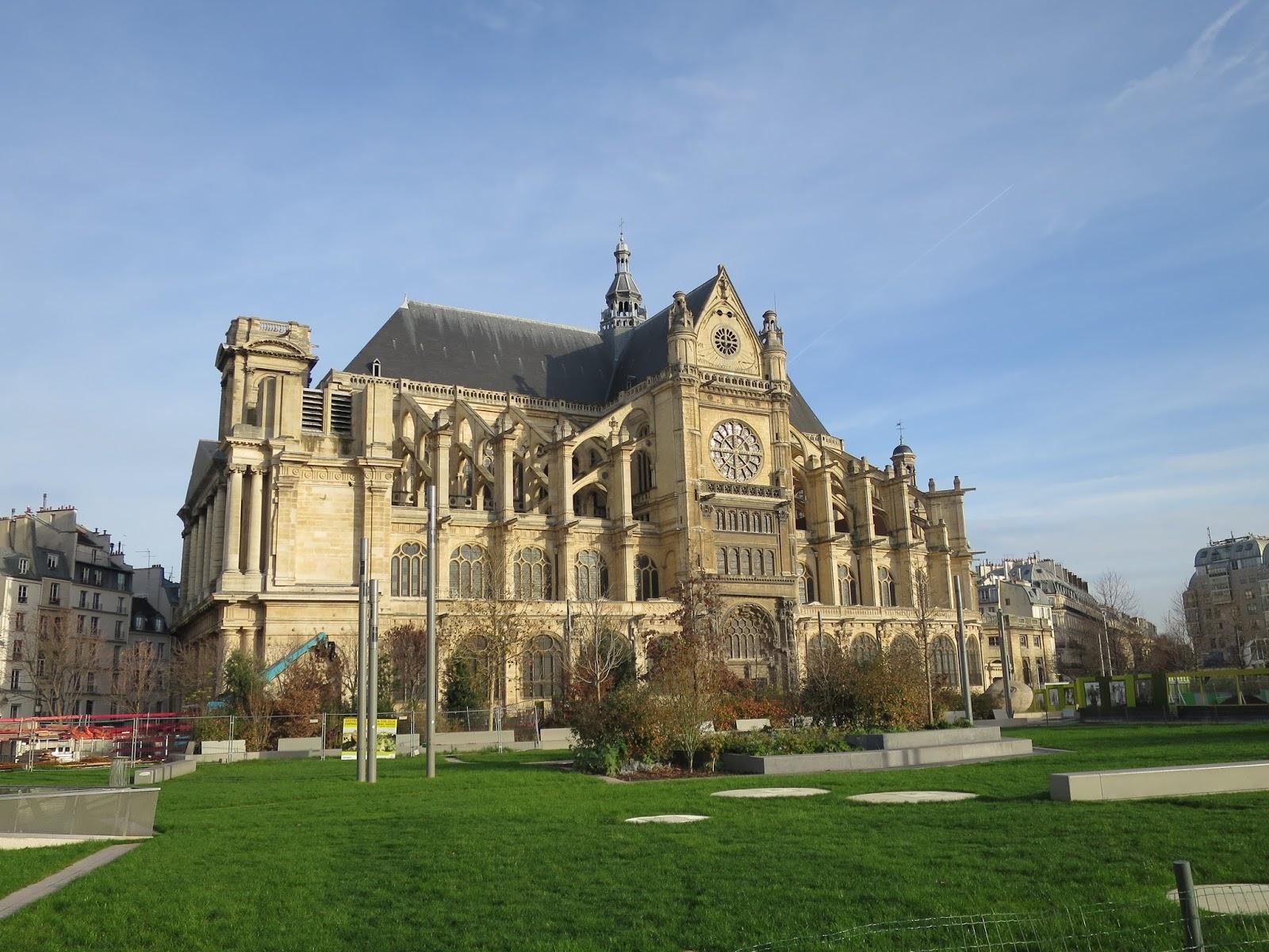 La rte le p re d 39 ulysse eglise saint eustache paris for Domon saint eustache