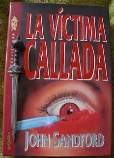 Portada del libro La víctima callada, de John Sanford