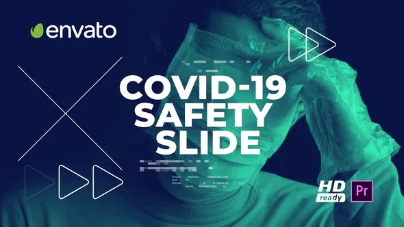 Videohive Covid-19 Safety Slide for Premiere Pro 28193879