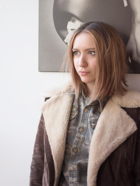 Elisa Walter, étudiante de Mode Estah