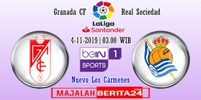 Prediksi Granada vs Real Sociedad — 4 November 2019