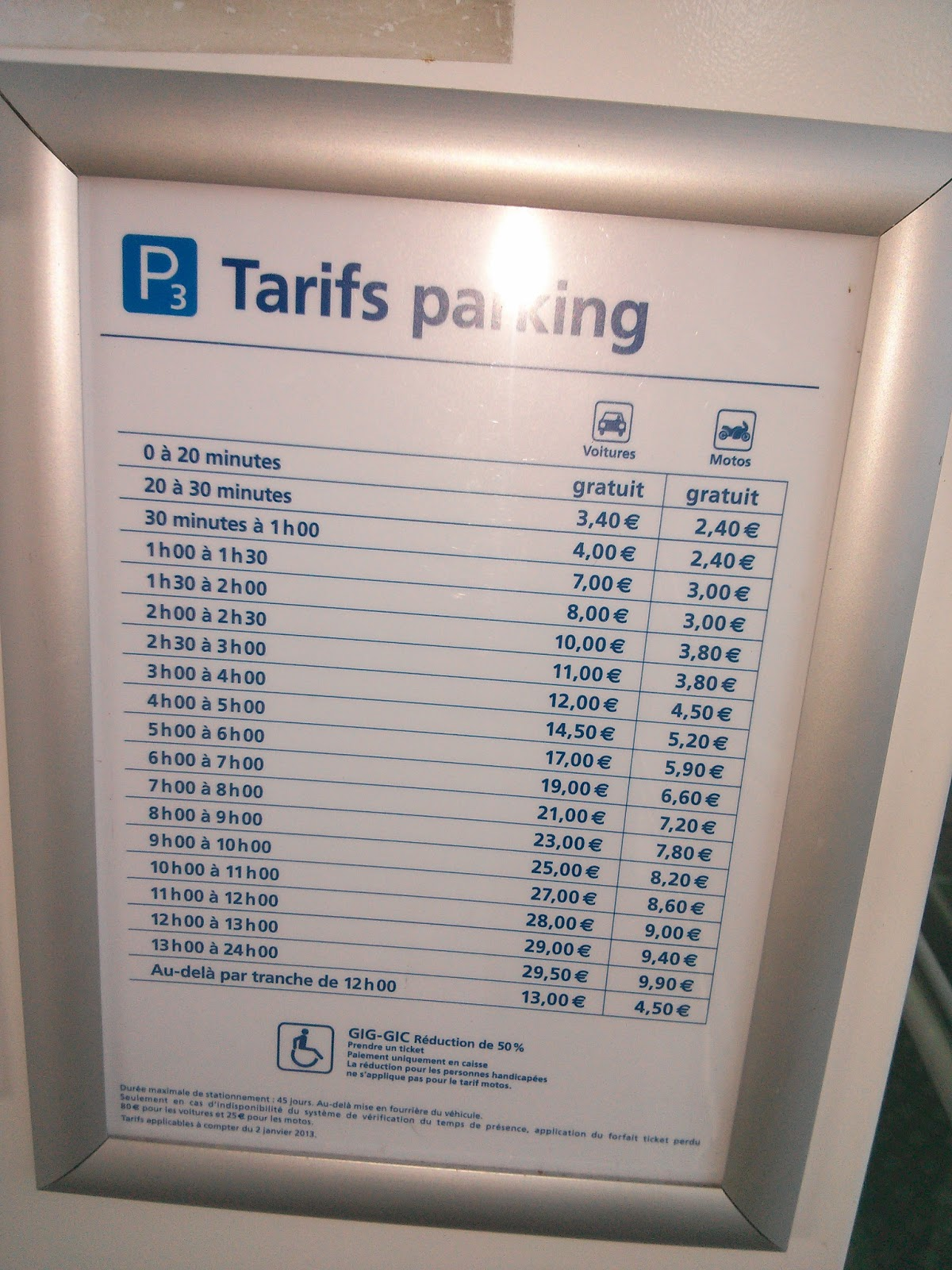 Tarif Orly Bus Critic Pratic Prix Parking Orly Sud P3