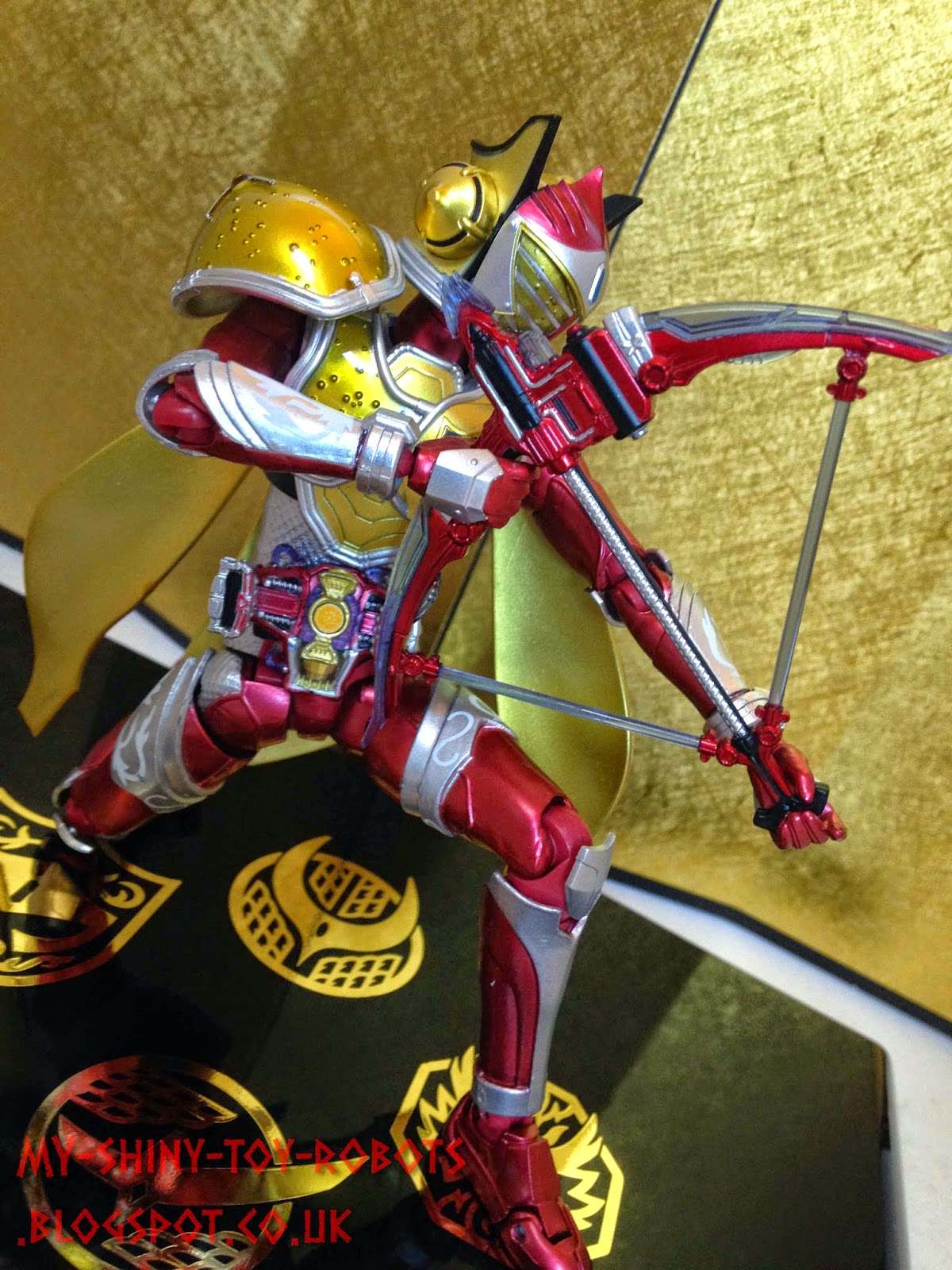 Strange posing copied from Bandai