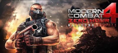 Modern Combat 4 Zero Hour Apk + Data Download