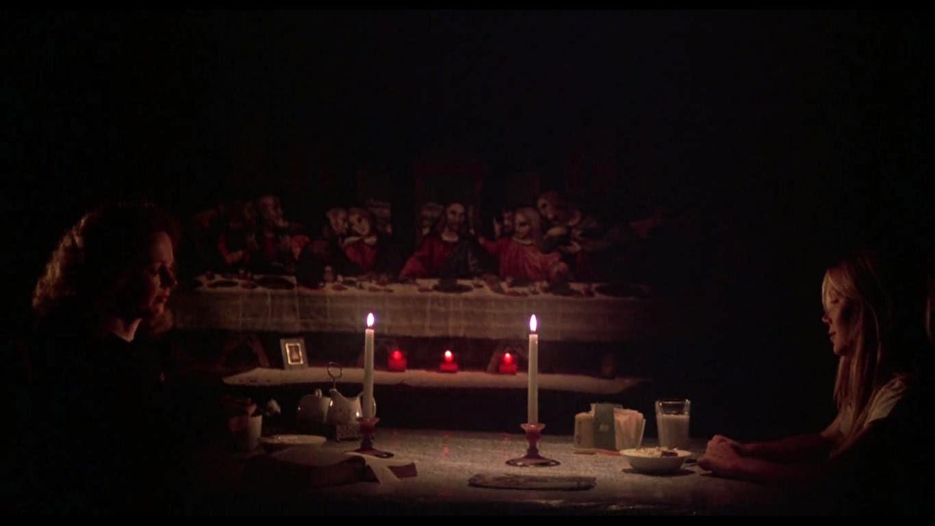 Mère et fille au dîner dans Carrie, de Brian de Palma (1972)