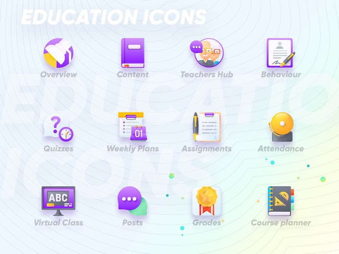 Free Download Education Icons [Sketch]