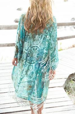 Kimono spiaggia Pinterest