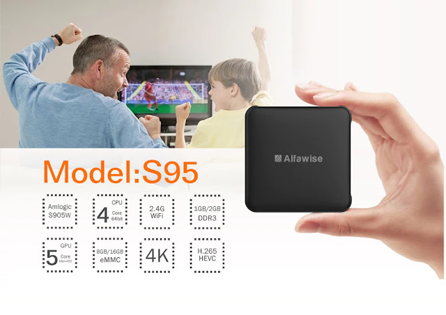 COUPON Alfawise S95 TV Box 16GB & REVIEW