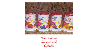 Have a #sweetsummer with Yoplait