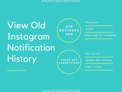 Infographic- How to View Old Instagram Notification