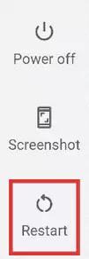 أعد تشغيل هاتف Android