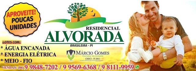 Adquira sua casa no Residencial Alvorada em Brasileira! Apenas 63 unidades  disponíveis