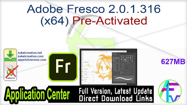 Adobe Fresco 2.0.1.316 (x64) Pre-Activated