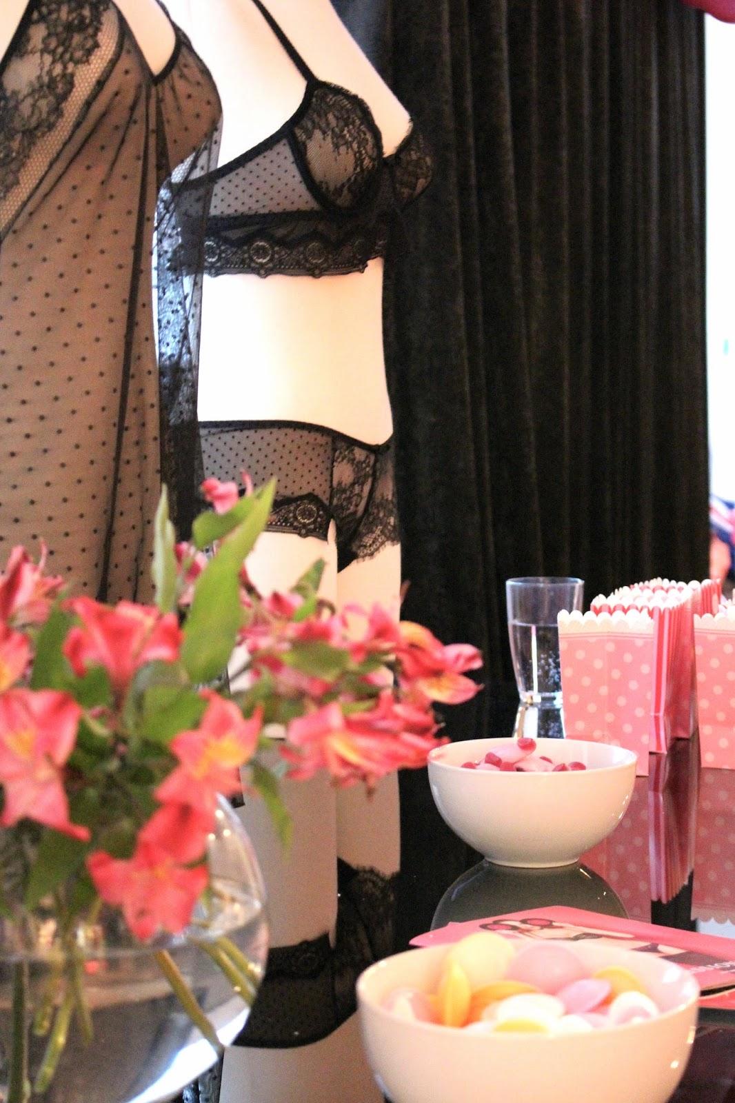 Passionata lingerie UK fashion blog event