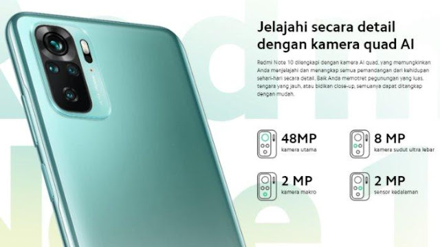 Resmi Dirilis Secara Global, Ini Harga dan Spesifikasi Xiaomi Redmi Note 10 dan Redmi Note 10 Pro