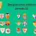 Árbitras para Liga Iberdrola 2020/2021