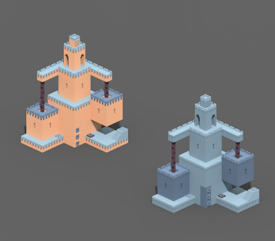 Increase the Max Size in MagicaVoxel
