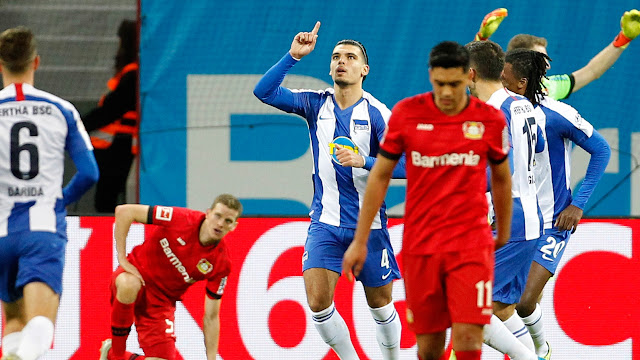Bayer Leverkusen vs Hertha BSC Highlights