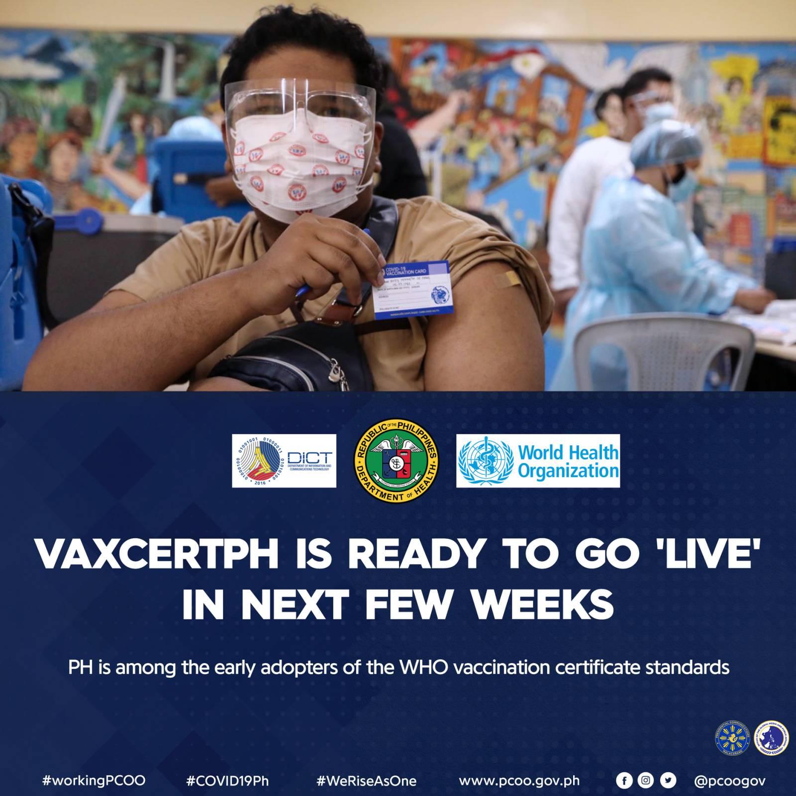VaxCertPH App   Philippine Digital Vaccine Certificate