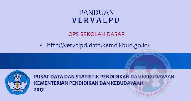 Panduan Verpal PD untuk Operator SD (Sekolah Dasar)