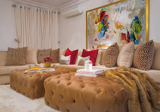Beautiful or not? Toke Makinwa shares a glimpse of her home