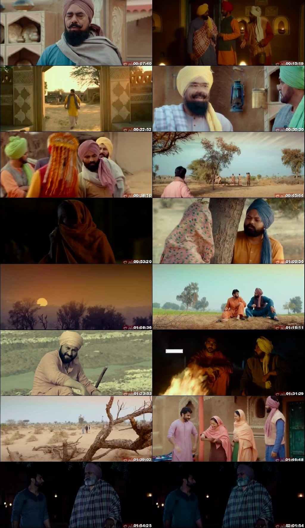 Screen Shot Of Nadhoo Khan 2019 300MB HDRip 480P Full Punjabi Movie Watch Online Free Download