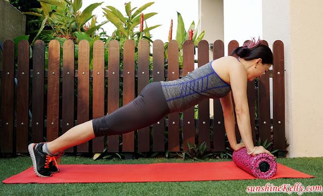 Medisana, PowerRoll XT UltraSoft Review, Fitness Review, Fitness Blogger, Foam Roller, Vibration Foam Roller