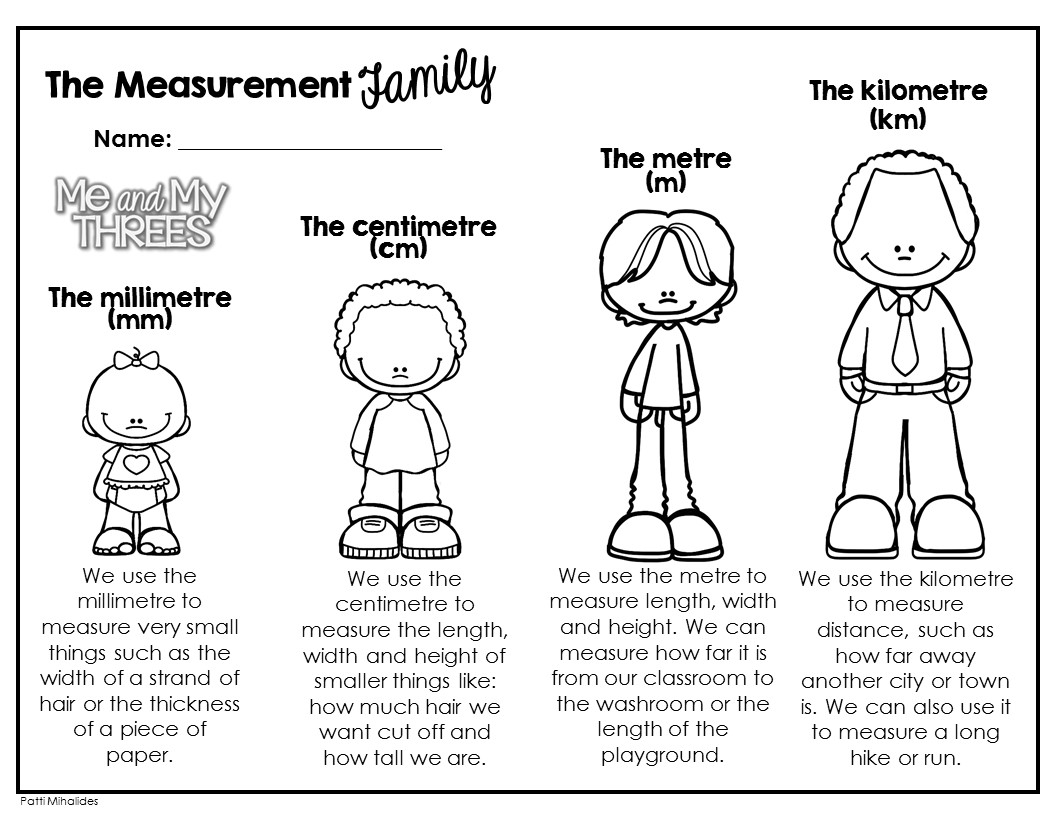 Me And My Threes: The Measurement Family!